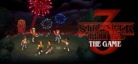 Stranger Things 3: The Game Steam Key Gift Code PC Download Windows Computer Game