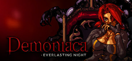 Demoniaca: Everlasting Night Steam Key Gift Code PC Download Windows Computer Game