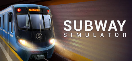 Subway Simulator Steam Key Gift Code PC Download Windows Computer Game