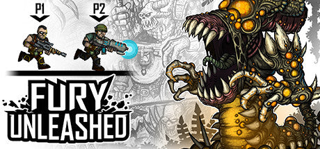 Fury Unleashed Steam Key Gift Code PC Download Windows Computer Game