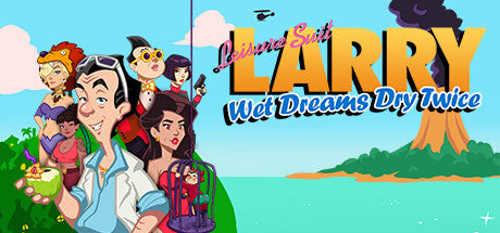 Leisure Suit Larry - Wet Dreams Dry Twice Steam Key Gift Code PC Download Windows Computer Game