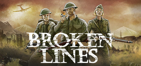 Broken Lines Steam Key Gift Code PC Download Windows Computer Game