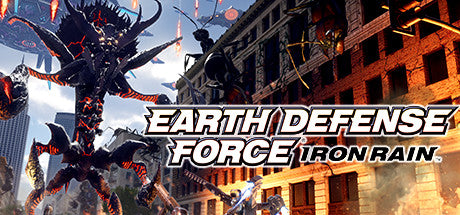 EARTH DEFENSE FORCE: IRON RAIN Steam Key Gift Code PC Download Windows Computer Game