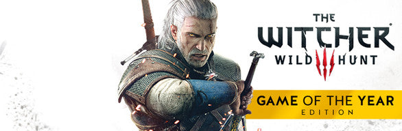 Witcher 3: Wild Hunt - Game of the Year Edition PC Download Windows Computer Game
