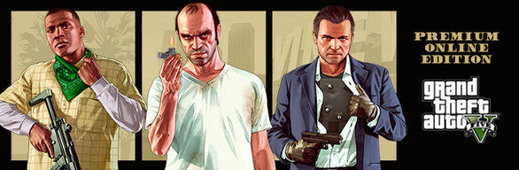 Grand Theft Auto V: Premium Online Edition Rockstar Social Club Key Code PC Download Windows Computer Game