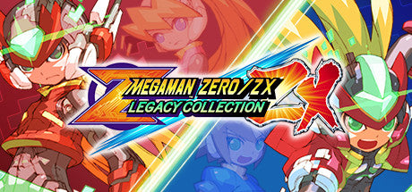 Mega Man Zero/ZX Legacy Collection Steam Key Gift Code PC Download Windows Computer Game