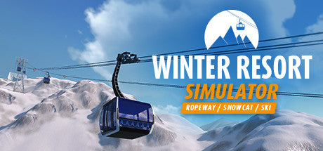Winter Resort Simulator Steam Key Gift Code PC Download Windows Computer Game