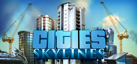 Cities: Skylines with After Dark DLC Steam Key Code PC Download Windows Computer Game
