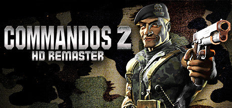 Commandos 2 - HD Remaster Steam Key Gift Code PC Download Windows Computer Game