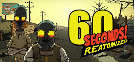 60 Seconds! Reatomized Steam Key Gift Code PC Download Windows Computer Game
