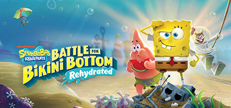 SpongeBob SquarePants: Battle for Bikini Bottom - Rehydrated Steam Key Gift Code PC Download Windows Computer Game