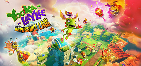 Yooka-Laylee and the Impossible Lair Steam Key Gift Code PC Download Windows Computer Game