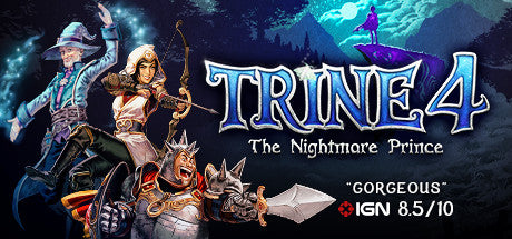 Trine 4: The Nightmare Prince Steam Key Gift Code PC Download Windows Computer Game