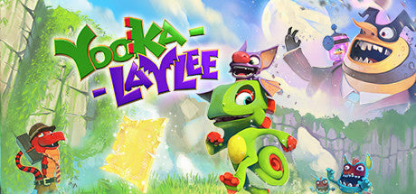 Yooka-Laylee Deluxe Edition with DLCs PC Download Windows Computer Game
