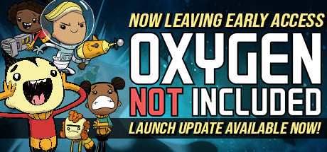 Oxygen Not Included Steam Key Gift Code PC Download Windows Computer Game