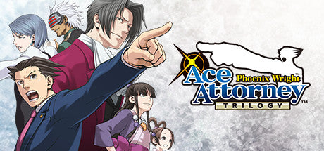 Phoenix Wright: Ace Attorney Trilogy Steam Key Code PC Download Windows Computer Game