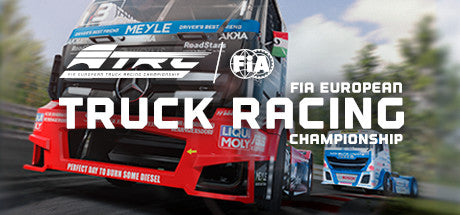 FIA European Truck Racing Championship Steam Key Gift Code PC Download Windows Computer Game