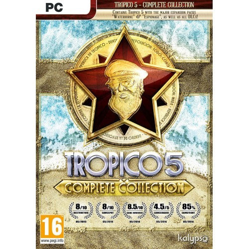 Tropico 5 Complete Collection PC Download Windows Computer Game