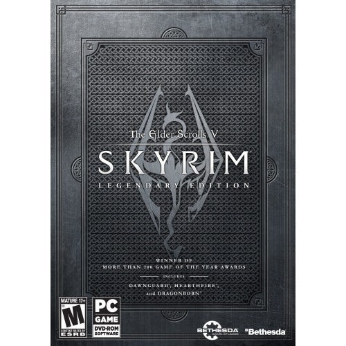 The Elder Scrolls V Skyrim Legendary Edition PC Download Windows Computer Game