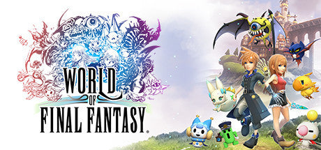 World of Final Fantasy Complete Edition with MAXIMA Upgrade PC Download Windows Computer Game