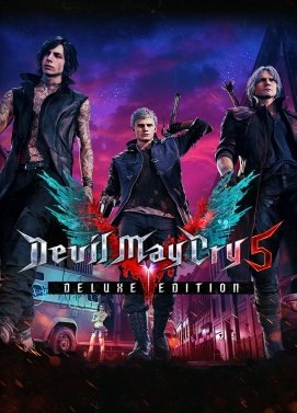 Devil May Cry 5 Deluxe Edition PC Download Windows Computer Game