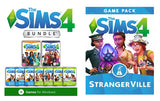 The Sims 4 Deluxe Bundle Collection + Discover University and Expansions PC Download Windows Computer Game