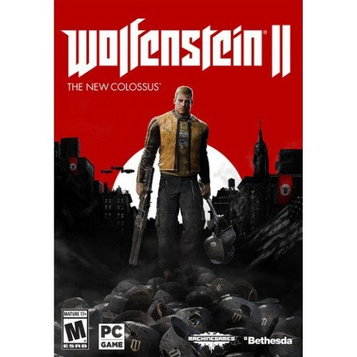 Wolfenstein II 2 The New Colossus PC Download Windows Computer Game