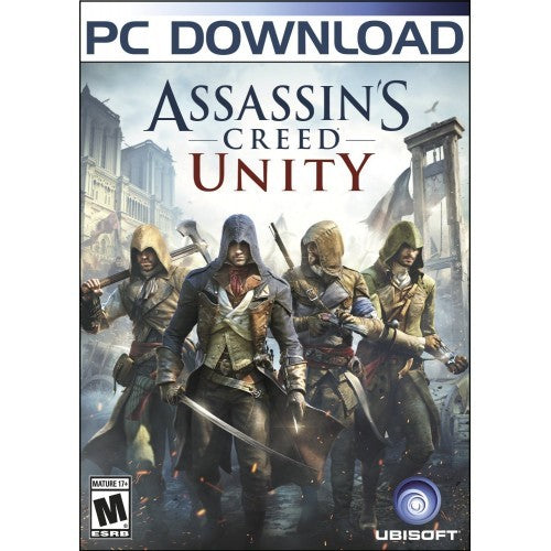 Assassin's Creed Unity PC Download Windows Computer Game
