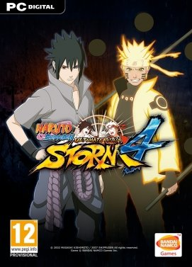 Naruto Shippuden: Ultimate Ninja Storm 4 Steam Key Code PC Download Windows Computer Game