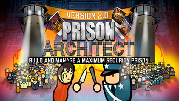 Prison Architect Includes the Clink Update PC Download Windows Computer Game