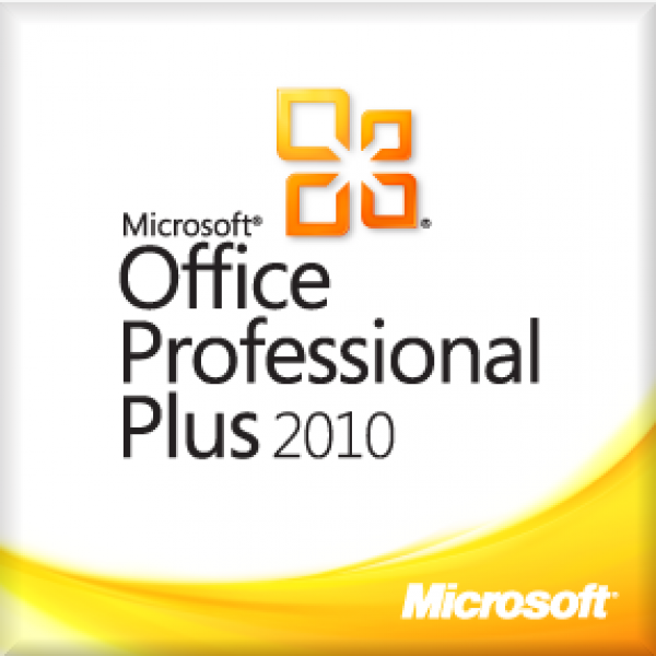 Microsoft Office 2010 Professional Plus for Windows PC Product License Code 1 PC