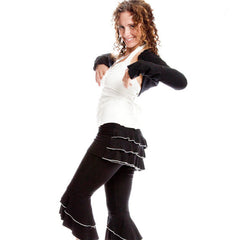 Bustle Capris - Dervish - 1