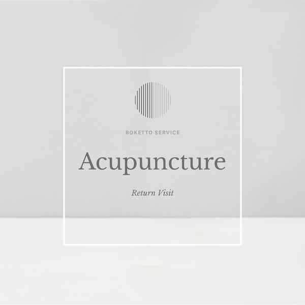 Acupuncture - Return Patient