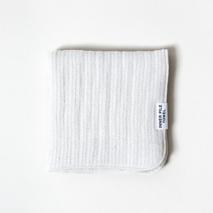 Inner Pile Washcloth in Ivory