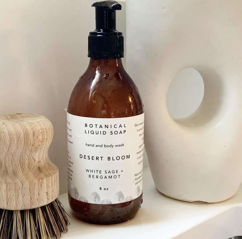 Desert Bloom Botanical Liquid Soap
