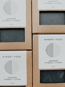 Boketto LAB Hinoki Yuzu Soap