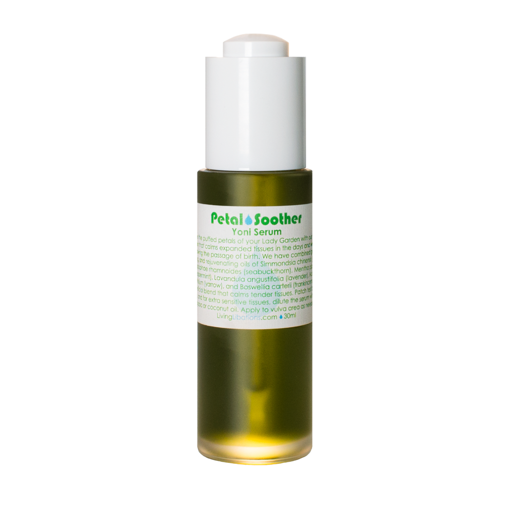 Living Libations Petal Soother Yoni Serum