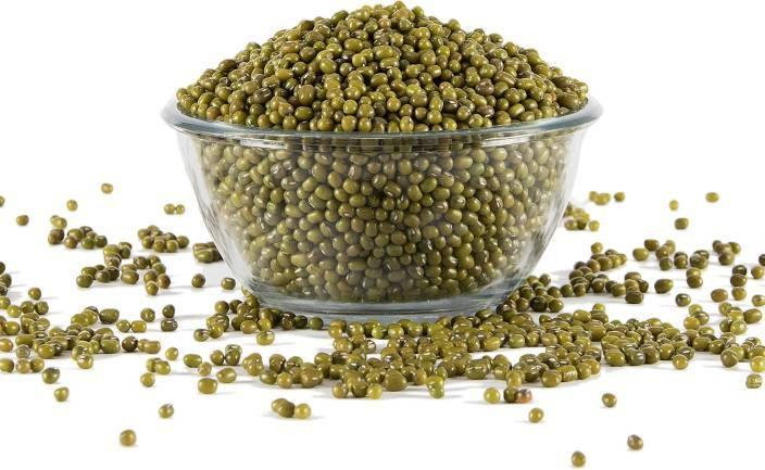 Organic Unpolished Whole Green Moong