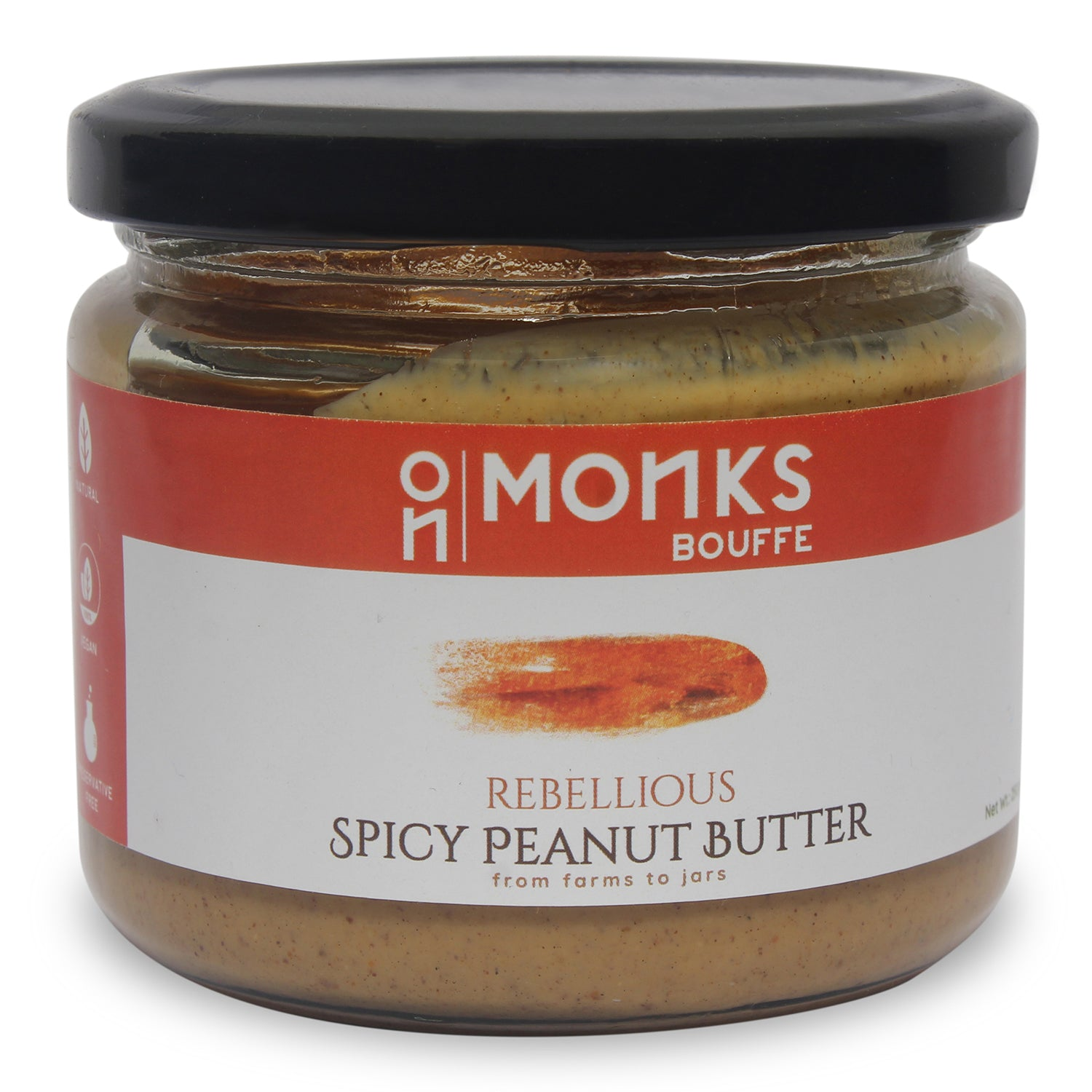 Rebellious Spicy Peanut Butter