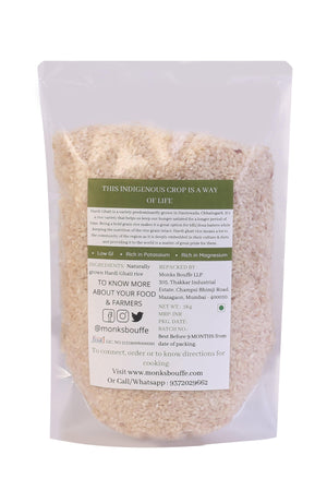 Organic Hardi Ghati Rice (For Idli/Dosa Batters)