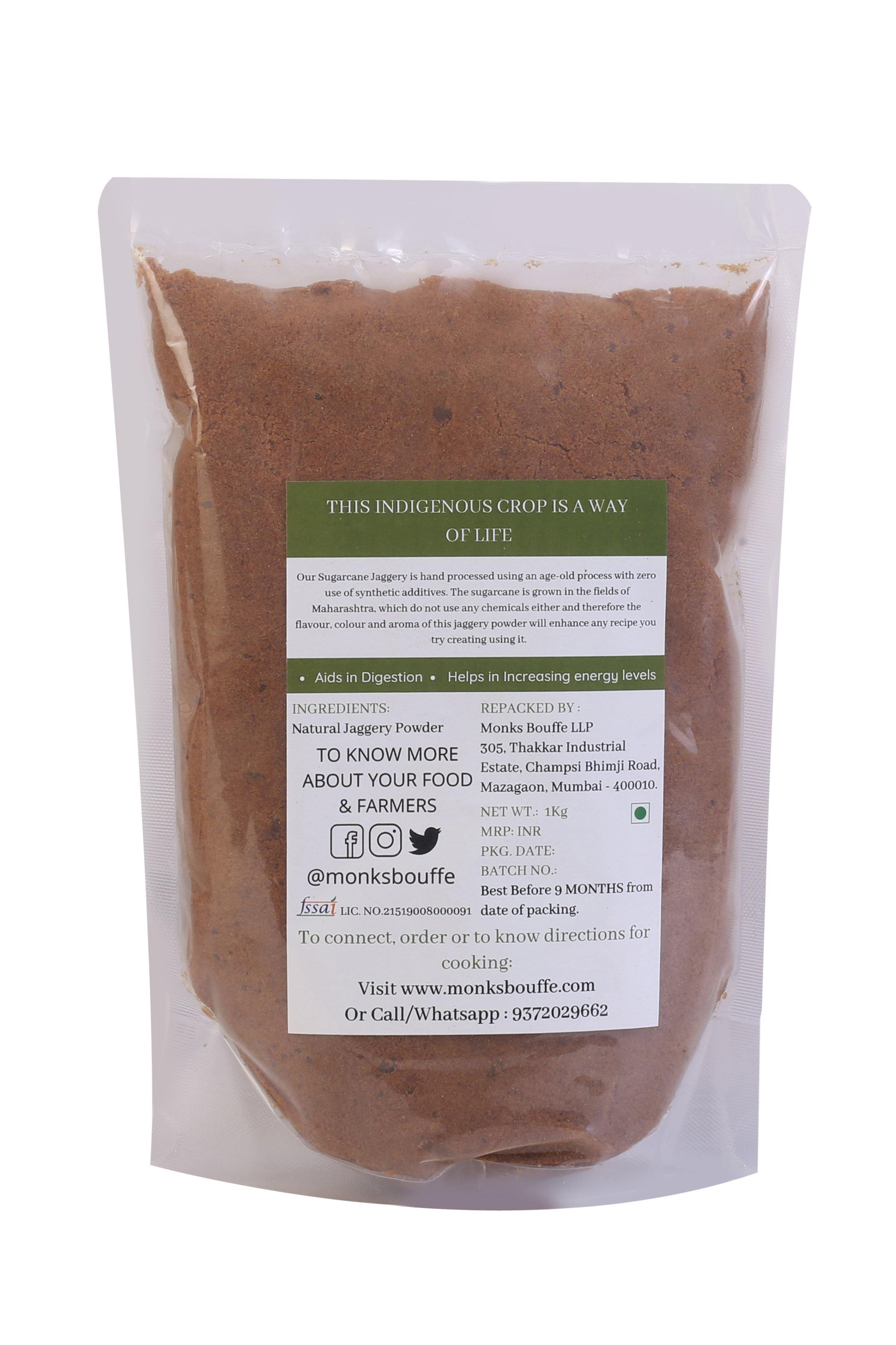 Organic Jaggery Powder - Traditionally Hand Processed