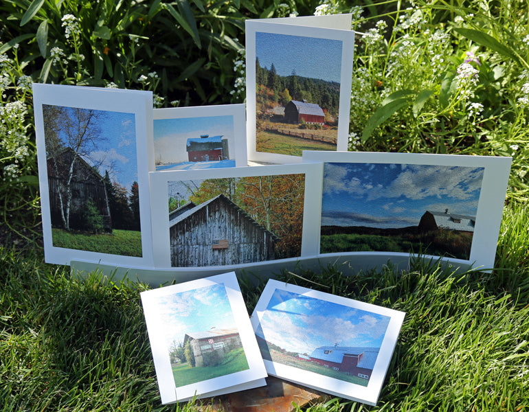 NestingCards  - Barn Impressions by Peg Owens
