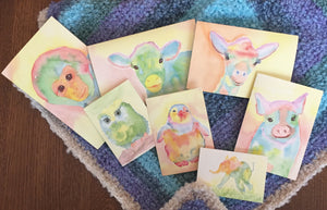NestingCards - Baby Animals by Becky Amble