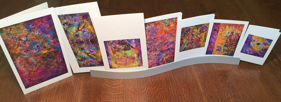 Nesting Cards - Abstracts by Miriam Woito