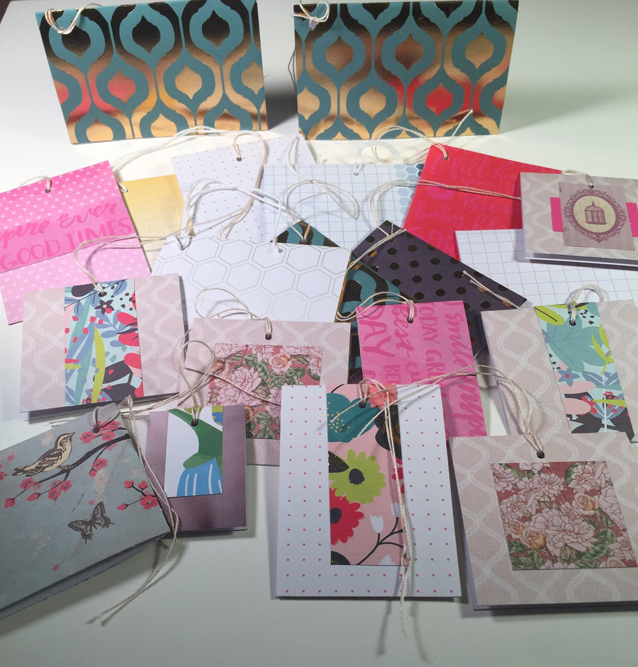 Gift Tags: Fold-over Assortment 1