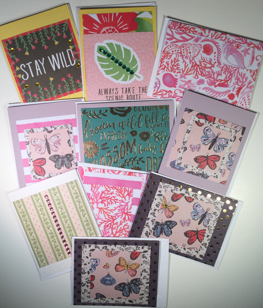 Cards: Assorted Sayings & themes