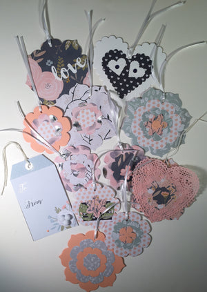 Gift Tags: Wedding Assortment 1