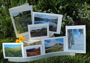 NestingCards - Idaho Mountain Impressions by Peg Owens