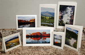 NestingCards - Idaho Waterway Impressions by Peg Owens