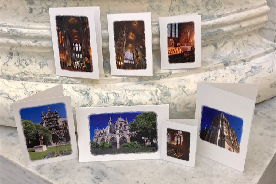 NestingCards - Notre Dame Before the Fire, by Peg Owens